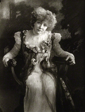 Portrait of Sarah Bernhardt in 1910 by Henry Walter Barnett