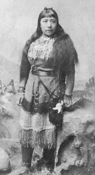 Sarah Winnemucca, Paiute writer and lecturer