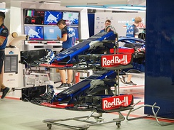 STR13 Spare Front Wings 2018 Singapore Grand Prix