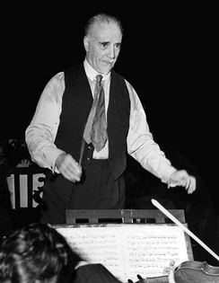 Sir Thomas Beecham, founding father and first conductor of the LPO