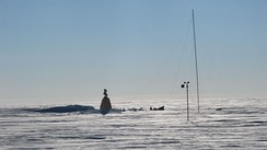 The old Soviet Pole of Inaccessibility Station, revisited by Team N2i on 19 January 2007