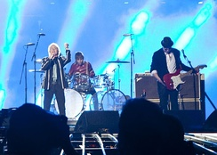 The Who performing the 2010 Super Bowl halftime show