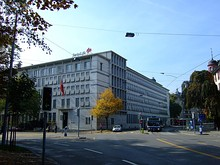 Swiss Life AG headquarters in Zurich.