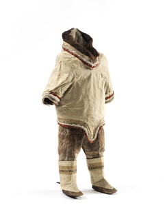 Kalaallit girl's clothing from Western Greenland