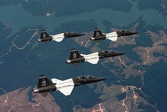 Northrop T-38C formation[note 4]