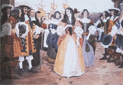 One group of King's Daughters arrives at Quebec, 1667