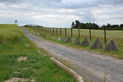 "Remains of the ""iron curtain"" in the Czech Republic"