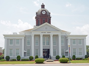 Appling County Courthouse in Baxley
