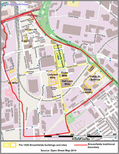 Fig.12 A Map of Broomfields 2014