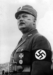 Ernst Röhm, SA Chief of Staff, was shot on Hitler's orders, after refusing to commit suicide, in the Night of the Long Knives purge in 1934