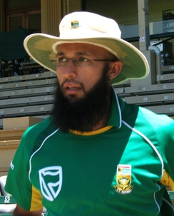 Amla training with South Africa in 2009.