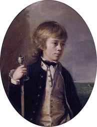Midshipman Henry William Baynton aged 13 (1780)