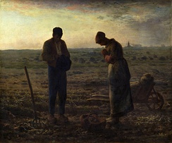The Angelus by Millet