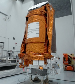 Kepler in Astrotech's Hazardous Processing Facility