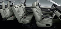 Discovery Sport showing seven seats