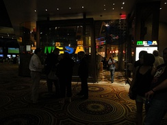 The exterior of Bobby Flay's Mesa Grill from the casino floor in 2011