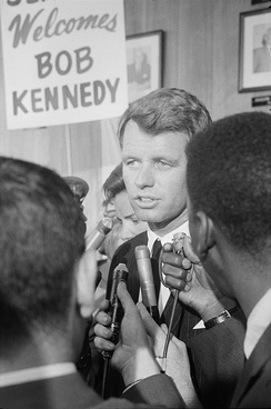 Kennedy at the 1964 Democratic National Convention