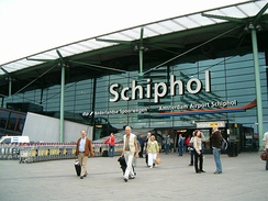 Amsterdam Airport Schiphol ranks as Europe's third-busiest airport for passenger traffic.