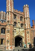 St John's College Great gate