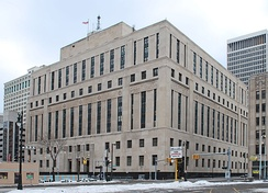 Theodore Levin United States Courthouse, Downtown