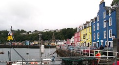 Tobermory, the largest settlement on Mull