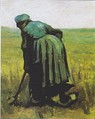 Vincent van Gogh, A woman with a spade, seen from behind, c. 1885.
