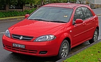 Holden Viva hatchback