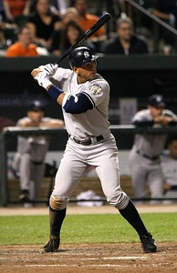 Yankees' third baseman Alex Rodriguez, 2007
