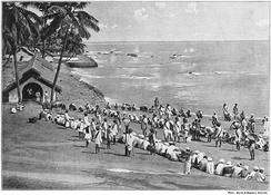 Penal colony in the Andaman Islands (circa late 1890s)