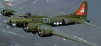 Boeing B-17G-75-BO Fortress AAF Serial No. 42-38050 of the 303d Bombardment Group.