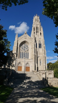 Cathedral Basilica of Christ the King is the seat for the Roman Catholic Diocese of Hamilton. Catholicism is the largest religious denomination in the city.
