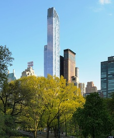 One57 rises above Central Park