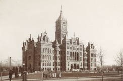 Seat of Salt Lake City government c. 1894