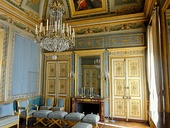 The Blue Salon of the Château de Compiègne, an example of an Empire interior