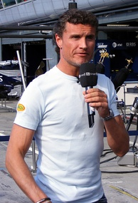 David Coulthard (pictured in 2007) was disqualified from the second place due to an illegal front wing endplate on his car.