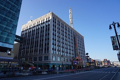 The Detroit Fox Theatre in Downtown