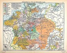 The Holy Roman Empire during the 16th century