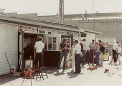 Gasoline Alley in 1984.