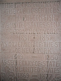 The Hamilton Fish memorial at the Cathedral of All Saints (Albany, New York).