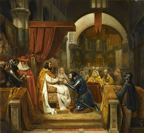 Alfonso VI of León and Castile appoints Henry to the County of Portugal, in 1096.
