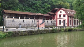 Museum Hydroelectric power plant ″Under the Town″ in Serbia, built in 1900.[4]