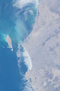 Lima as seen from the International Space Station