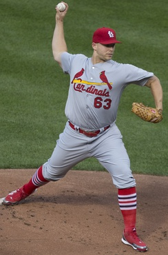 Masterson with the St. Louis Cardinals