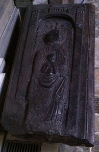 Memorial that may be for Nigel in Ely Cathedral