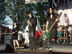 My Dying Bride at Frozen Rock Fest. 2007.