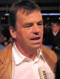 Neil Jordan at the German premiere of The Brave One, 2007