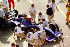 Roland Ratzenberger was fatally injured in qualifying after crashing due to a front-wing failure.