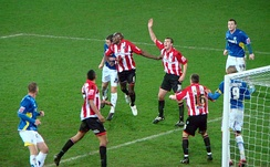 Sheffield United playing against Cardiff City
