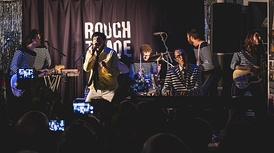 Sparks performing at Rough Trade East, Brick Lane, London in September 2017