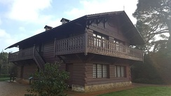The Swiss Cottage.
